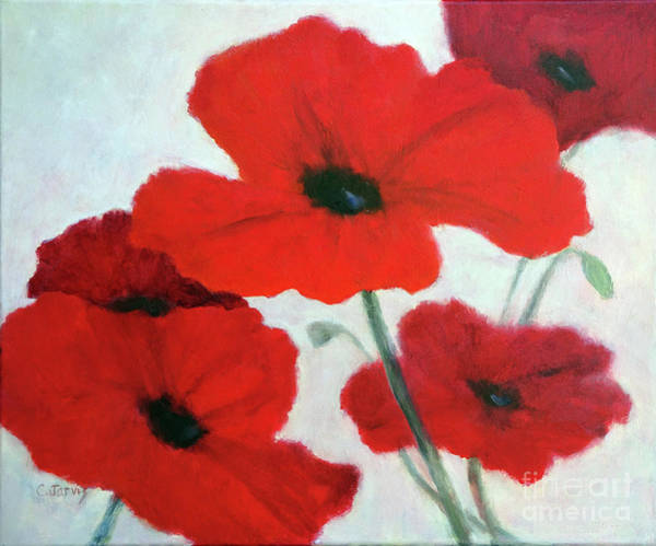 Painting - Poppy Delight by Carolyn Jarvis