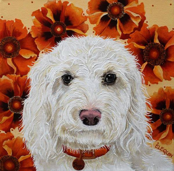 Wall Art - Painting - Poppy by Elizabeth Elequin