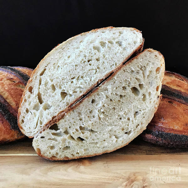 Photograph - Poppy Seed Striped Sourdough 4 by Amy E Fraser