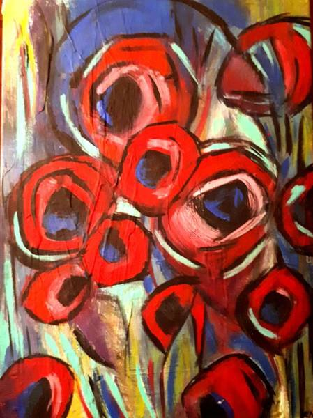 Painting - Poppy Wild by Nikki Dalton
