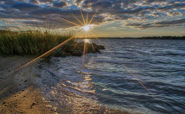 Photograph - Poquoson Sunset II by Jerry Gammon