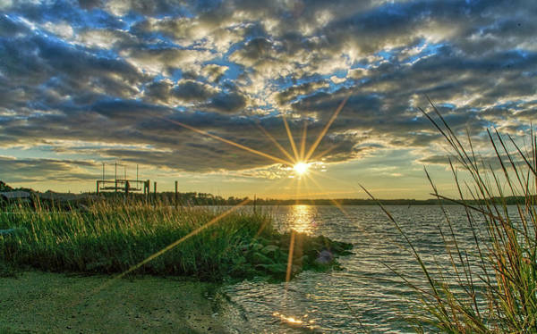 Photograph - Poquoson Sunset by Jerry Gammon