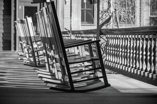 Photograph - Porch Rockers by Kristopher Schoenleber
