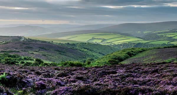 Exmoor Photograph - Porlock Common Sunrise by Bob Small Photography