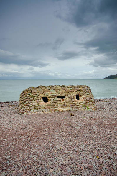 Wall Art - Mixed Media - Porlock Defences by Smart Aviation