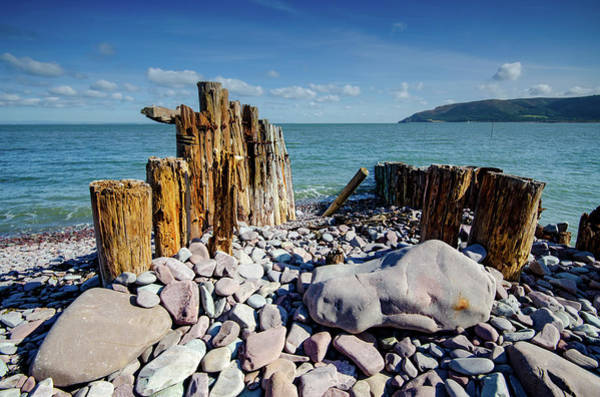 Wall Art - Mixed Media - Porlock Weir by Smart Aviation