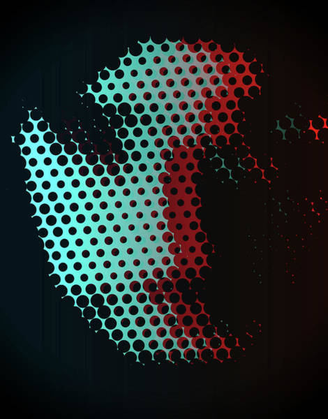Wall Art - Digital Art - Porous by Dan Sproul