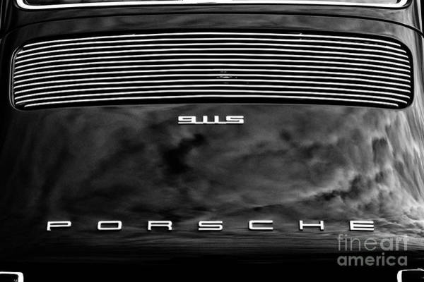 Photograph - Porsche 911s Monochrome by Tim Gainey
