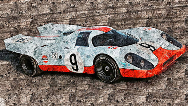 Painting - Porsche 917k - 100 by Andrea Mazzocchetti
