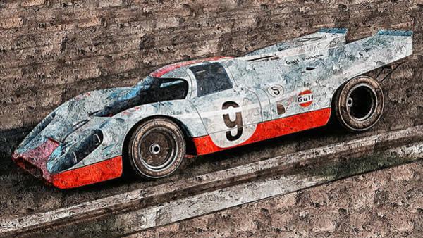 Painting - Porsche 917k - 101 by Andrea Mazzocchetti