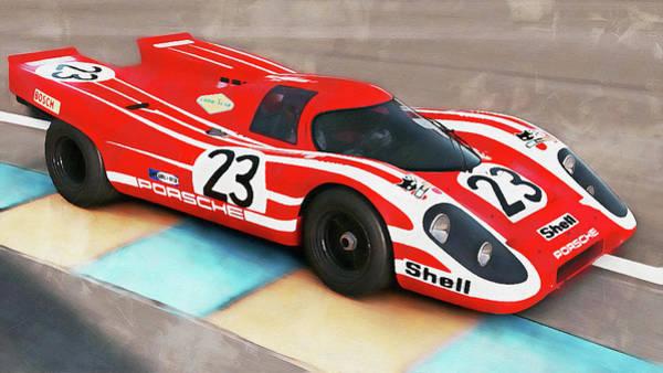 Painting - Porsche 917k - 103 by Andrea Mazzocchetti