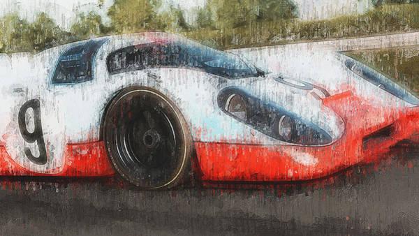 Painting - Porsche 917k - 104 by Andrea Mazzocchetti