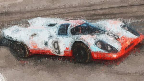 Painting - Porsche 917k - 105 by Andrea Mazzocchetti