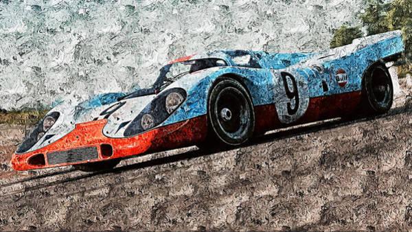 Painting - Porsche 917k - 99 by Andrea Mazzocchetti