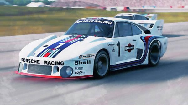 Painting - Porsche 935/78 - 19 by Andrea Mazzocchetti