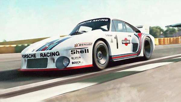 Painting - Porsche 935/78 - 21 by Andrea Mazzocchetti