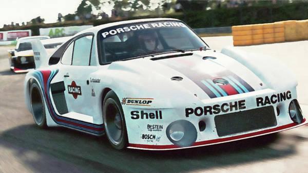 Painting - Porsche 935/78 - 22 by Andrea Mazzocchetti