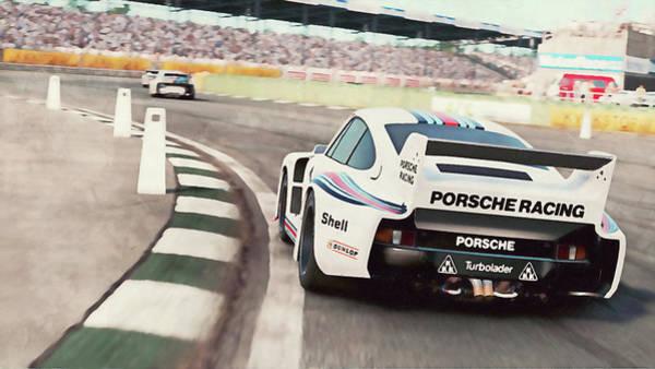 Painting - Porsche 935/78 - 23 by Andrea Mazzocchetti