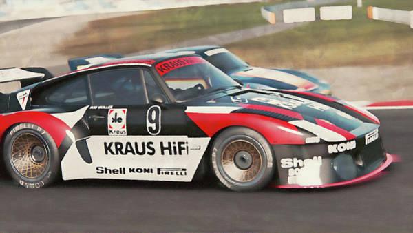 Painting - Porsche 935-80 - 61 by Andrea Mazzocchetti