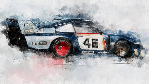 Painting - Porsche 935-80 - 63 by Andrea Mazzocchetti