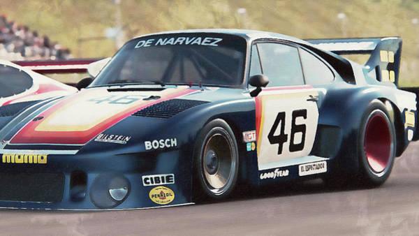 Painting - Porsche 935-80 - 65 by Andrea Mazzocchetti
