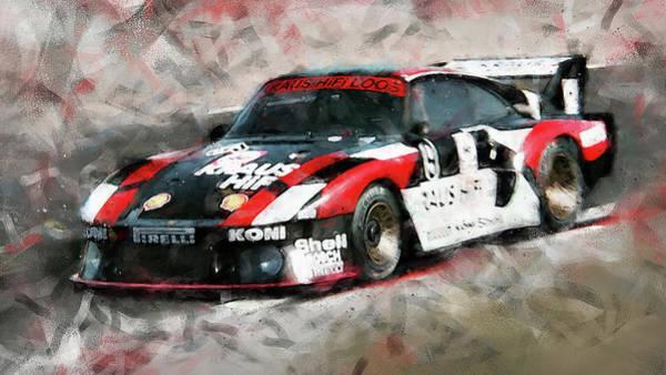 Painting - Porsche 935-80 - 66 by Andrea Mazzocchetti
