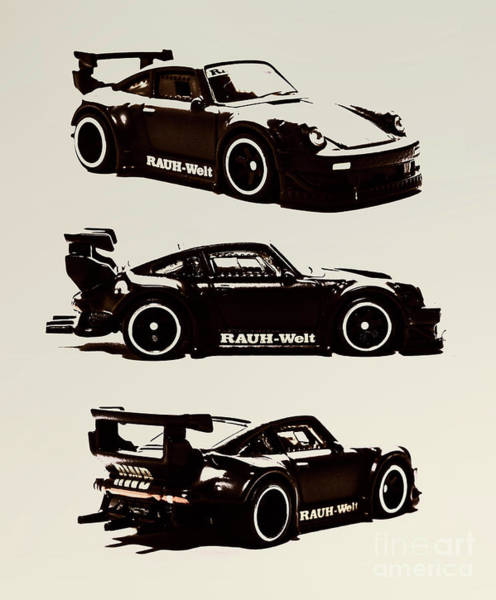 Wall Art - Photograph - Porsche Rwb 930 by Jorgo Photography - Wall Art Gallery