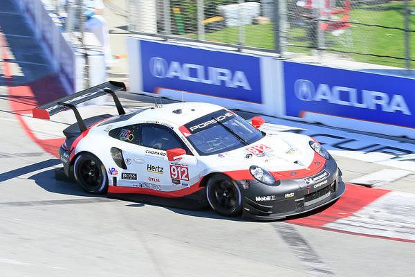Wall Art - Photograph - Porsche Speeding In Long Beach by Shoal Hollingsworth