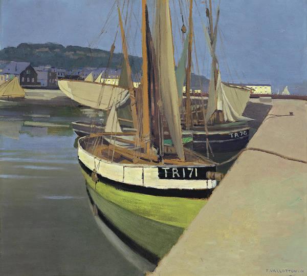 Wall Art - Painting - Port, 1901 by Felix Vallotton