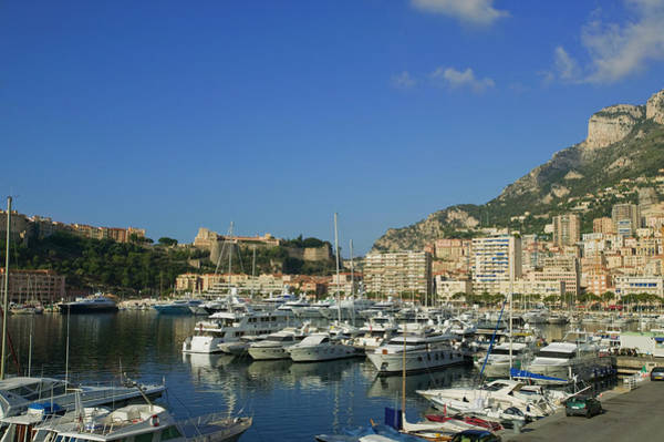 Monaco Photograph - Port De Monaco, Harbor And Waterfront by Christoph Rosenberger