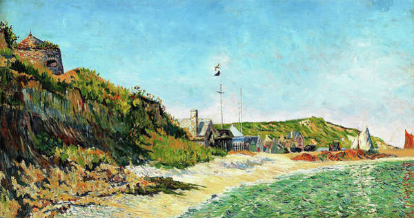 Wall Art - Painting - Port En Bessin - Digital Remastered Edition by Paul Signac