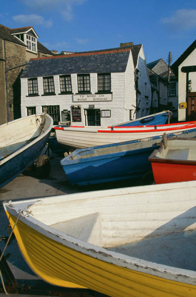Rowboat Photograph - Port Isaac by Epics