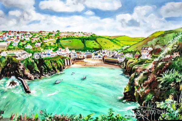 Painting - Port Isaac by James Lavott