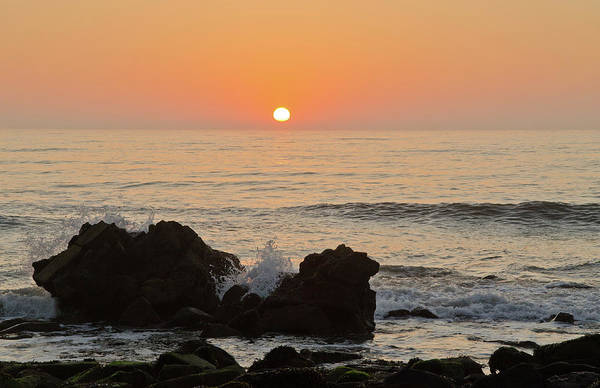 Sun Down Wall Art - Photograph - Port Mulgrave Sunrise by Paul Downing
