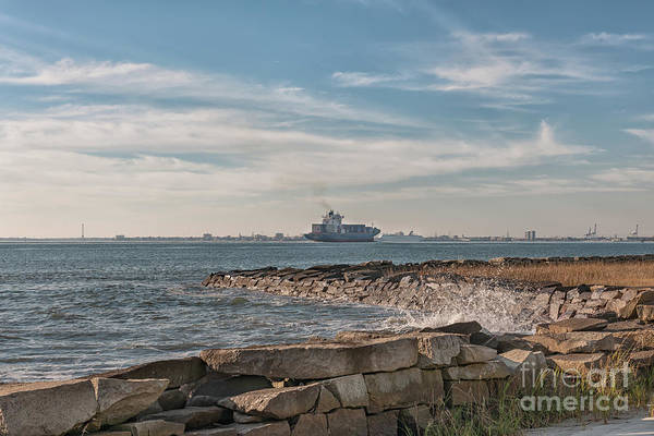 Photograph - Port Of Call - Charleston South Carolina by Dale Powell