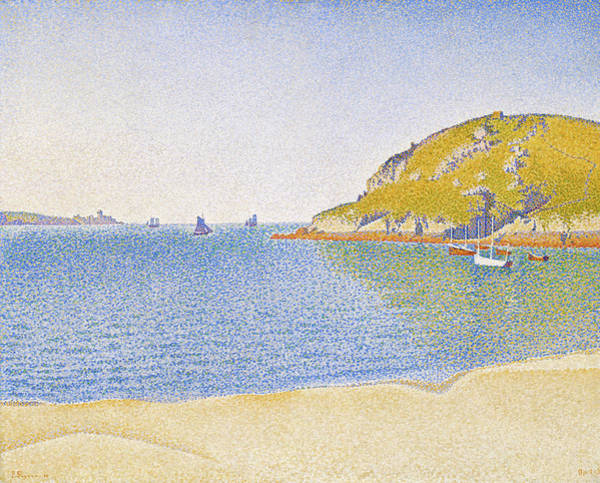 Neo-impressionism Wall Art - Painting - Port Of Saint-cast - Digital Remastered Edition by Paul Signac