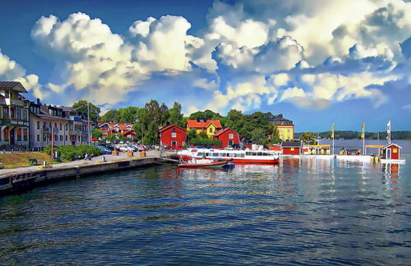 Photograph - Port Of Vaxholm by Anthony Dezenzio