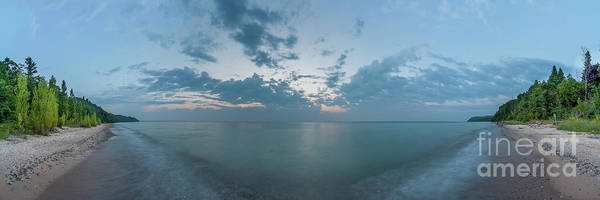 Wall Art - Photograph - Port Oneida Beach 180 Degree Panorama by Twenty Two North Photography