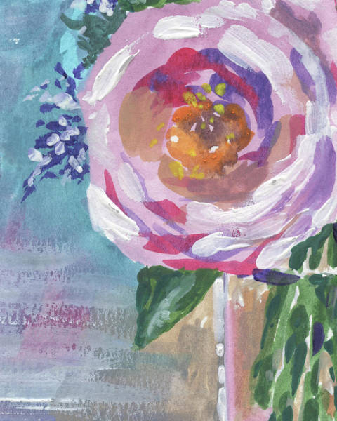 Wall Art - Painting - Portal To The Beauty Floral Impressionism  by Irina Sztukowski