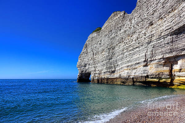 Wall Art - Photograph - Porte D'amont At Etretat by Olivier Le Queinec