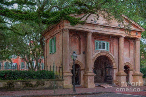 Painting - Porters Lodge - College Of Charleston  by Dale Powell