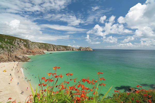 St Ives Photograph - Porthcurno Summer by Antonyspencer