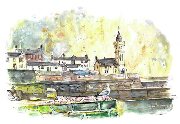 Painting - Porthleven 02 by Miki De Goodaboom