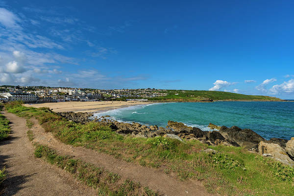 Photograph - Porthmeor Beach - St Ives Cornwall by Eddy Kinol