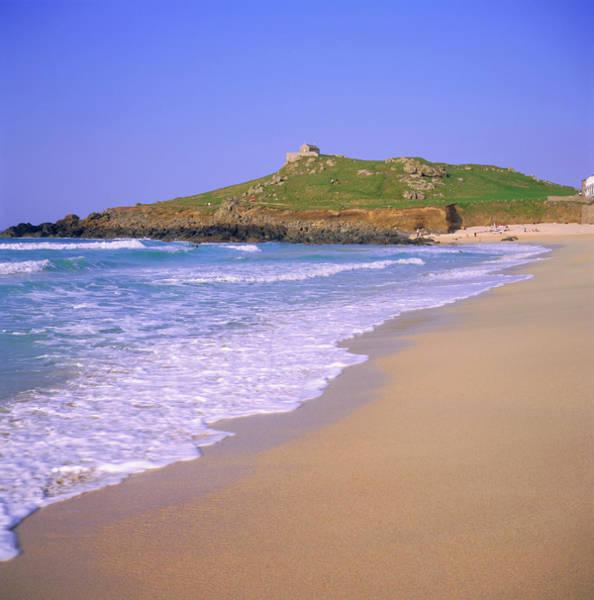 St Ives Photograph - Porthmeor Beach, St Ives, Cornwall by Roy Rainford / Robertharding
