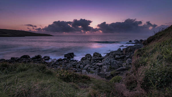 Photograph - Porthmeor Sunset - Cornwall by Eddy Kinol