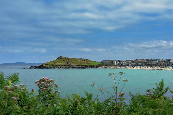 Photograph - Porthmeor View On The Island by Eddy Kinol