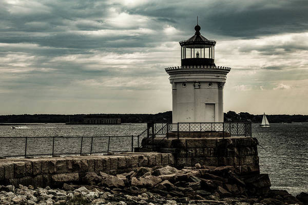 Photograph - Portland Breakwater Lighthouse Maine by Jeff Folger