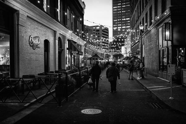 Photograph - Portland By Night by Steven Clark