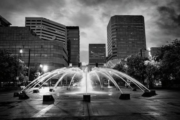 Photograph - Portland Fountains by Steven Clark